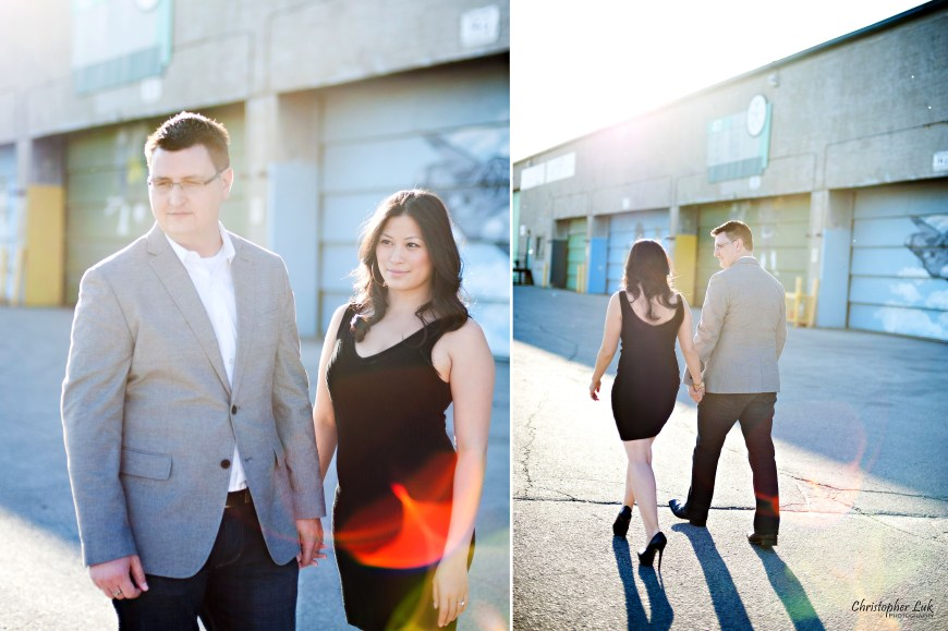 Christopher Luk Weddings 2012 - Engagement Session - Cindy and Walter - Northwood Downsview Park Toronto Wedding Photography - Casual Relaxed Creative Portraits - Bride and Groom Stylized Modern Urban Fashion