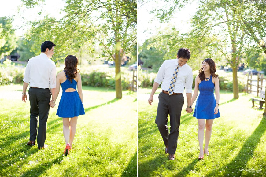 Christopher Luk 2014 - Heidi and Ming-Yun Engagement Session - Markham Richmond Hill Wedding Event Photographer - Candid Relaxed Natural Photojournalistic Sunset Golden Hour Walking