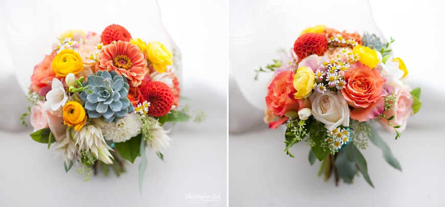 Christopher Luk 2014 - Heidi and Ming-Yun's Wedding - Courtyard Marriott Markham Thornhill Presbyterian Church Chinese Cuisine - Flower 597 Bridal Bouquet