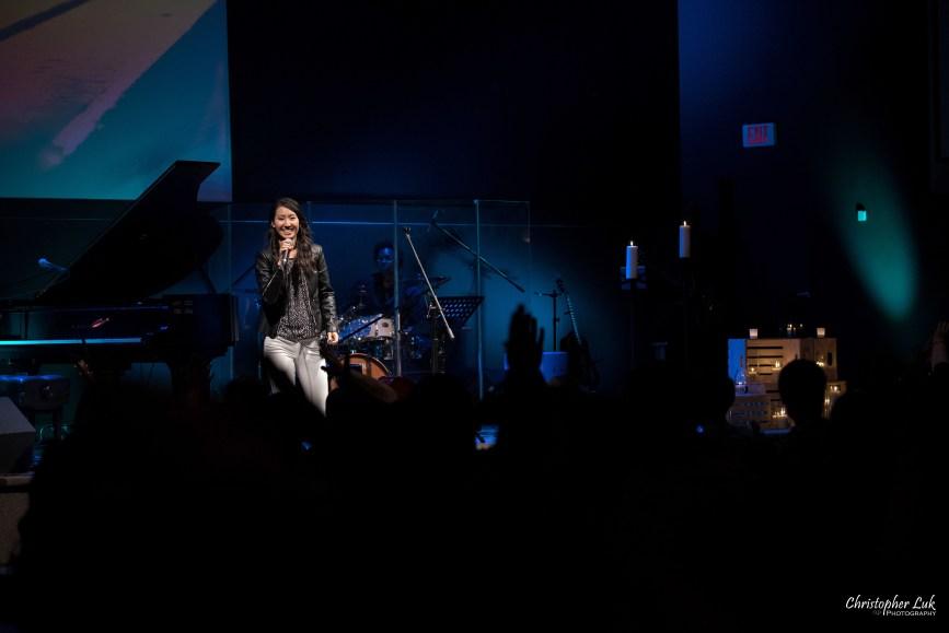 Rachelle Luk Live Concert Gospel Music Association Canada Covenant Award Winner Singer Songwriter University of Toronto Gospel Choir More Than Beautiful Audience Participation