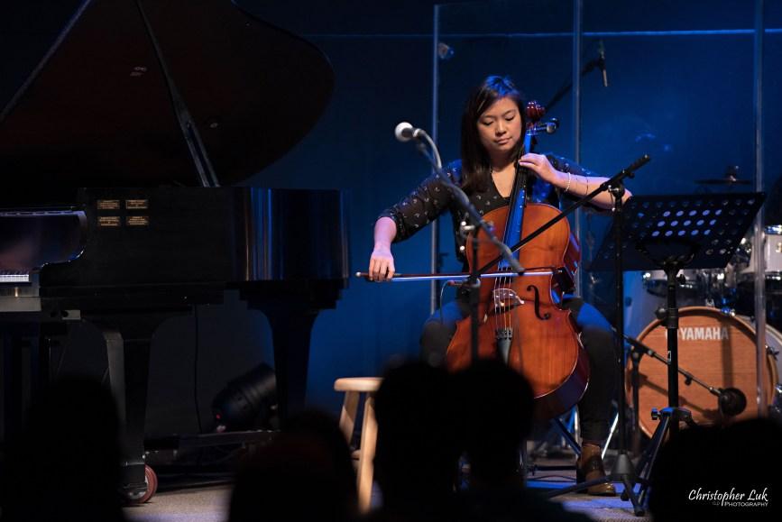 Rachelle Luk Live Concert Gospel Music Association Canada Covenant Award Winner Singer Songwriter I Am Not Selina Chan Cellist Cello Player