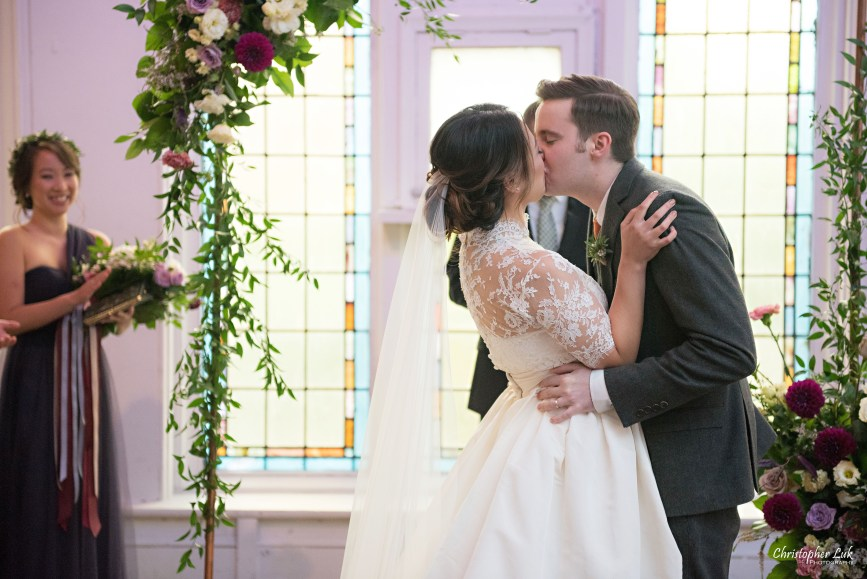 Christopher Luk (Toronto Wedding Photographer): Berkeley Church Vintage Rustic Ceremony Candlelight Dinner Reception Pinterest Worthy Details Candid Natural Photojournalistic Bride Groom Funny Faces First Kiss