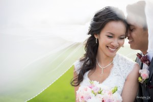 Christopher Luk Toronto Wedding Portrait Lifestyle Event Photographer - Eagles Nest Golf Club Outdoor Ceremony Toronto Raptors Blue Jays Sports Fans Natural Candid Photojournalistic Bride Groom Bouquet Smile Happy Veil
