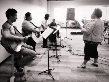 Musical Worship Rehearsal