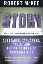 Story: Substance, Structure, Style, and the Principles of Screenwriting(Robert McKee, 1977) This interview makes me SO EXCITED to read his book.