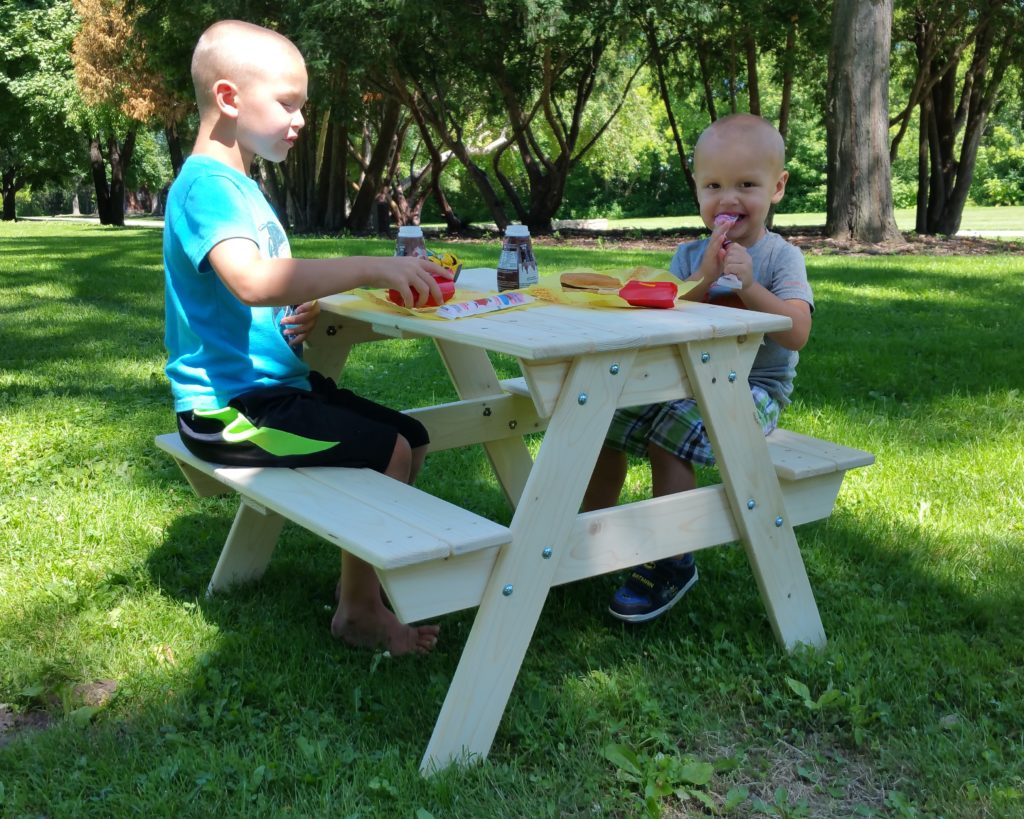 Children S Heirloom Picnic Tables Chrisman Mill Farms