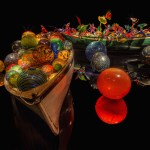 Dale Chihuly's Ikebana & Float Boat installation at Oklahoma City Museum of Art