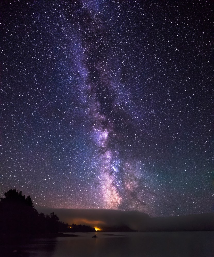 Milky Way Galaxy as seen from Cape Lookout, Oregon