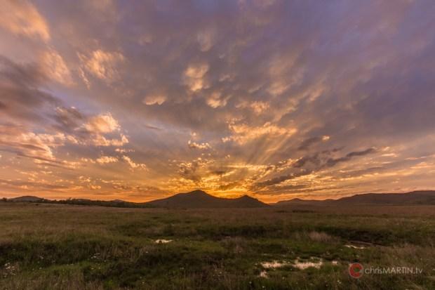 Saddle Mountain Sunset