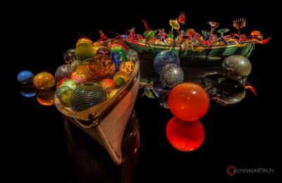 Ikebana & Float Boat, Dale Chihuly, Oklahoma City Museum of Art, Oklahoma City, OK