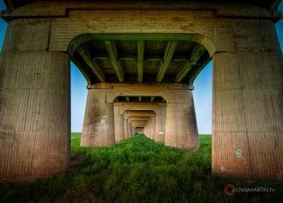 Continental Ave Bridge Undercarriage, Dallas, TX
