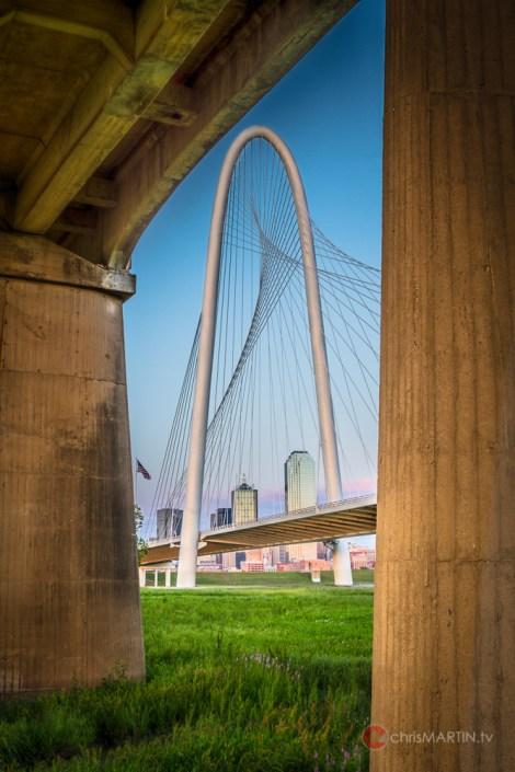 Margaret Hunt Hill Bridge, Dallas, TX