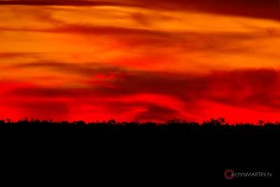 Sunset, Cache, OK