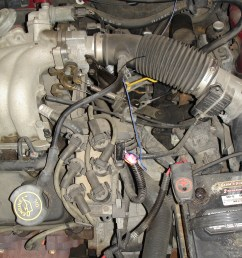 replace a camshaft position sensor 1997 ford taurus 1997 sable fuse box  [ 2304 x 3072 Pixel ]