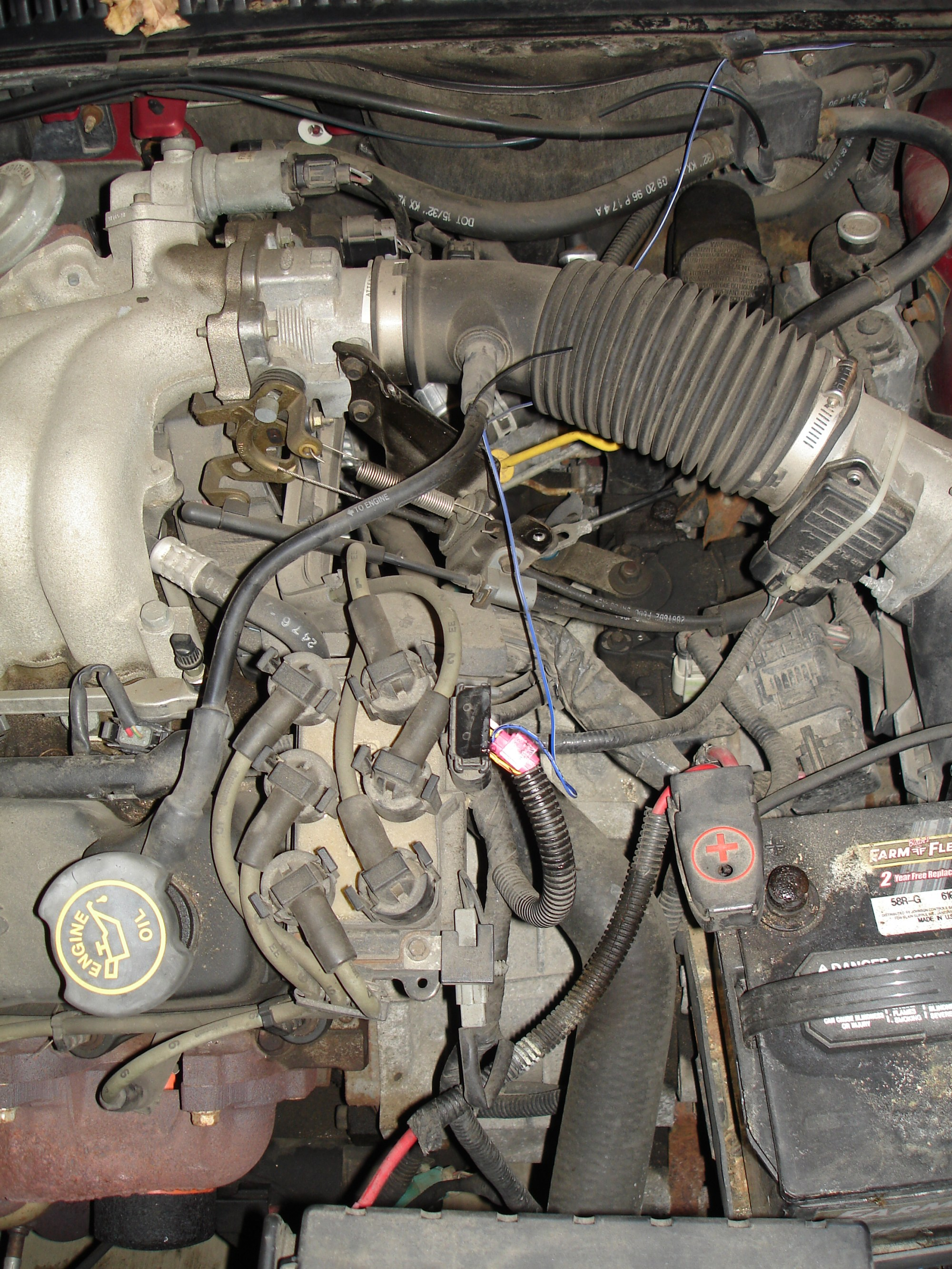 hight resolution of replace a camshaft position sensor 1997 ford taurus 1997 sable fuse box