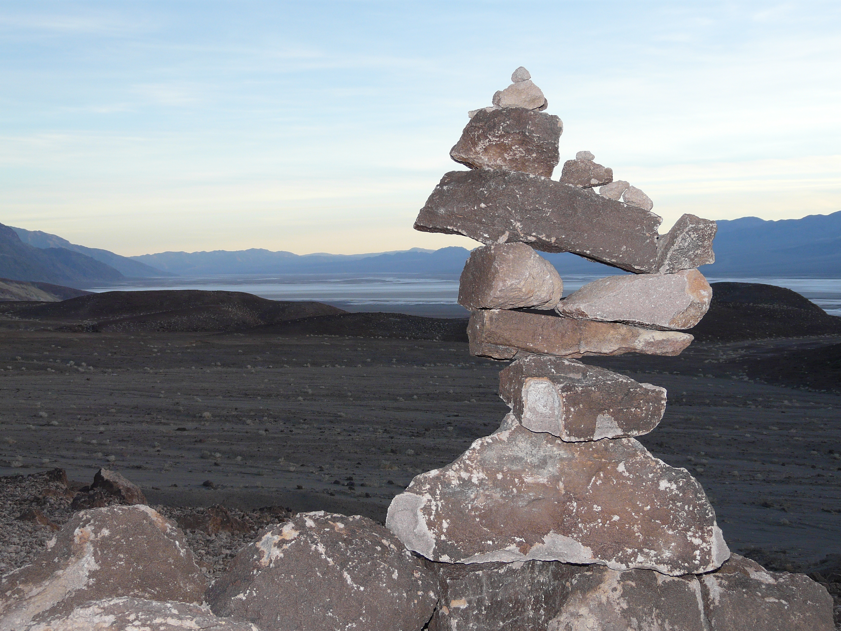 Stacked Rocks - Death Valley (California)