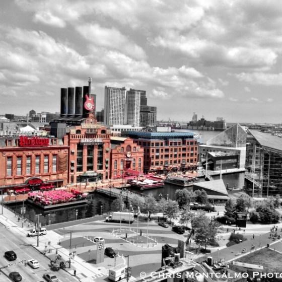 Baltimore Power Plant Colorsplash