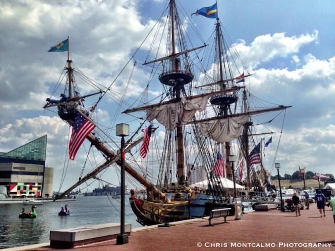 Baltimore Harbor Tall Ships