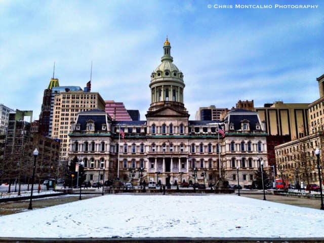 City Hall Baltimore