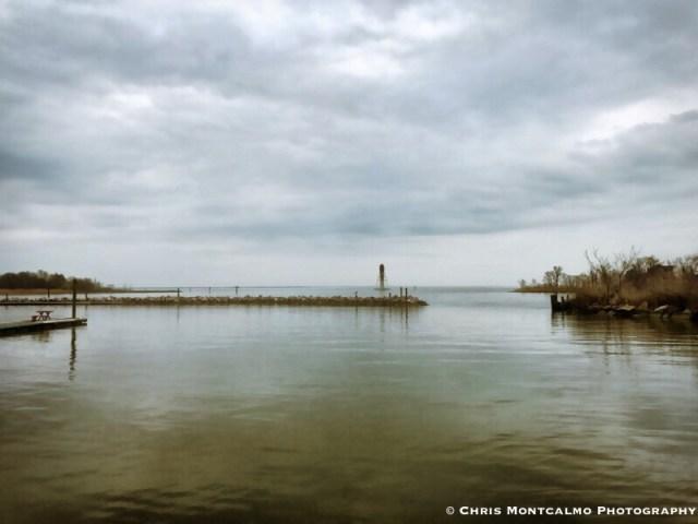 Gloomy Chesapeake Bay