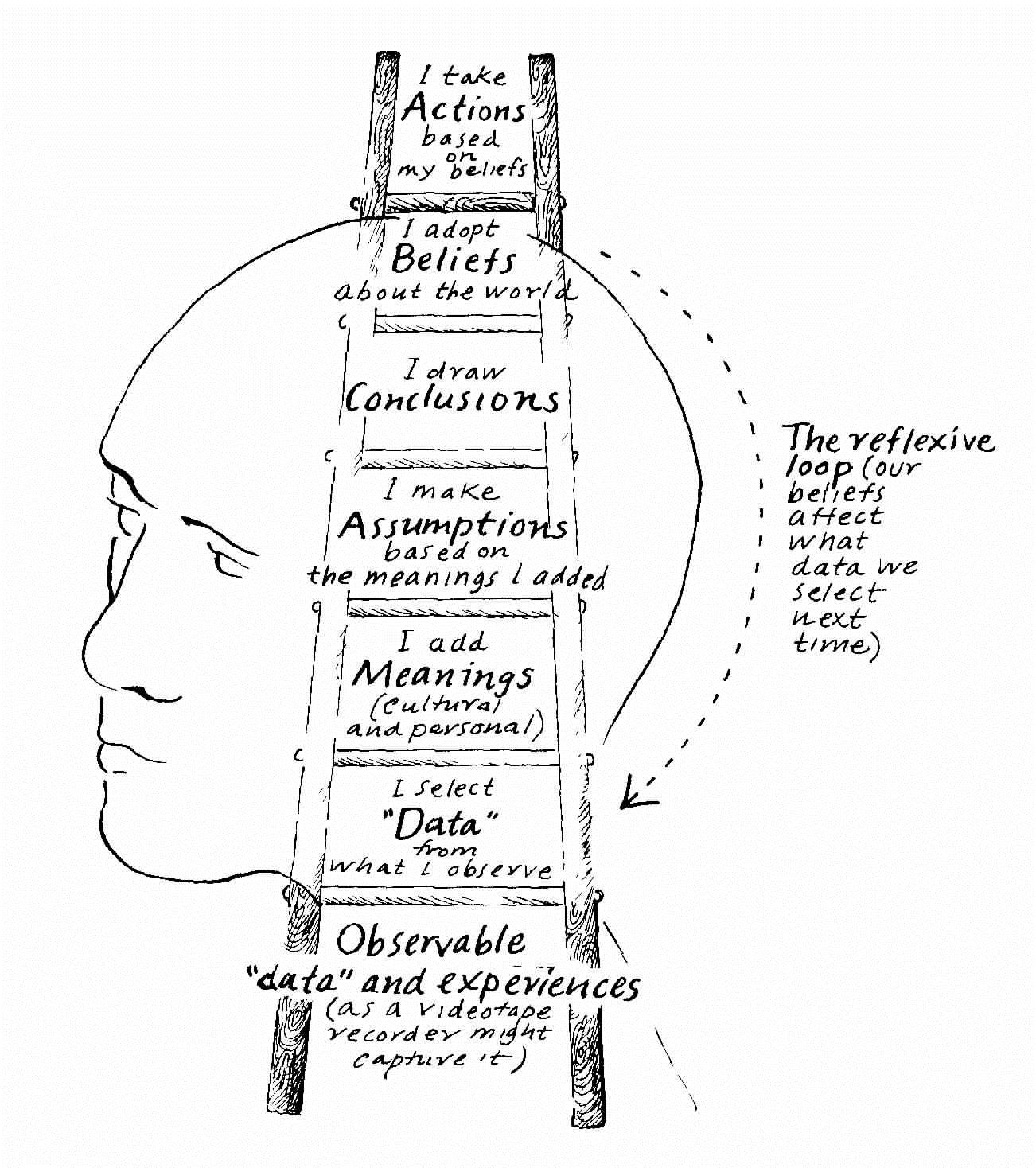 Rethinking Thinking Using The Ladder Of Inference
