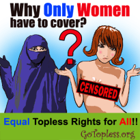 Why Only Women have to cover?