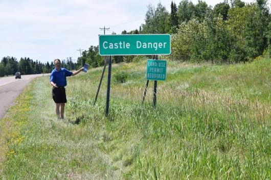 "The ""real"" Castle Danger, MN"