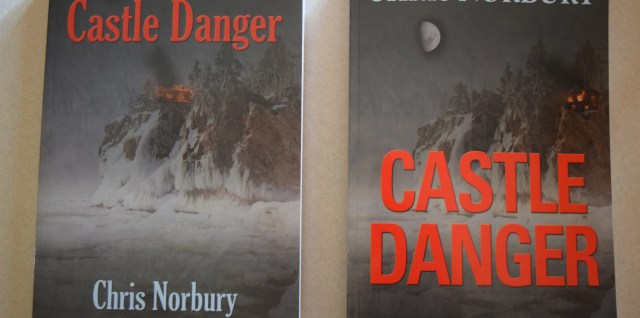 Old and new covers for Castle Danger