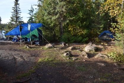 N end Sawbill island site