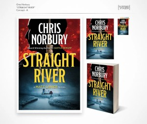 Straight River book covers