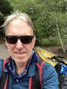 me at Sawbill Lake landing with my gear