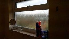 Bathroom window (All tiles now gone YAY!!!)