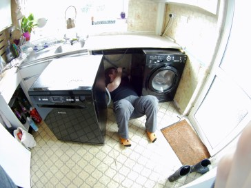 Dishwasher out