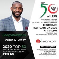 Black Speaker - Top 50 Black entrepreneur Texas