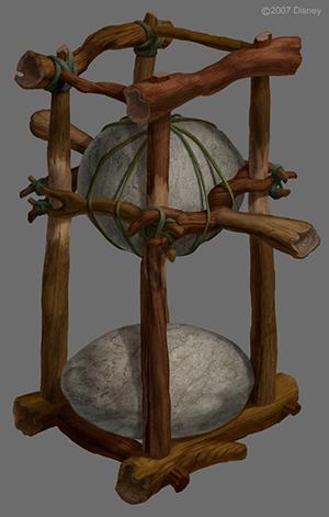 Concept Art for Tinker Bell's Nut Smasher Design