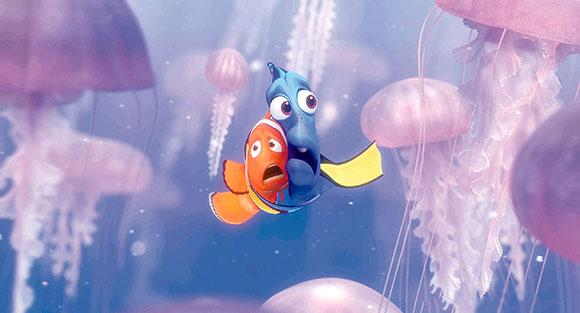 Jellyfish Scene Finding Nemo