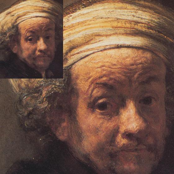 Rembrandt Texture Detail