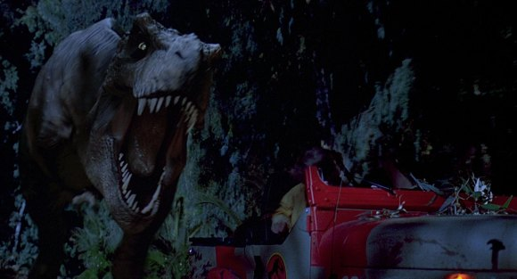 t-rex-jeep-chase