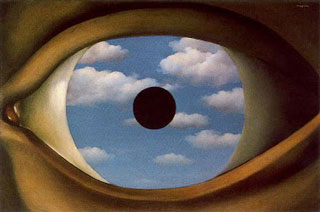 The False Mirror by René Magritte