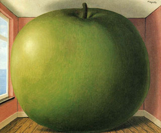 The Listening Room by René Magritte
