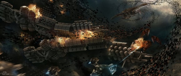 ' Losing Fight' from 'Ender's Game' by Robert Simons