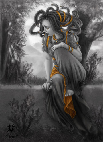 "Maria Kercher's ""Medusa"" [ click to see the hi-res version ]"
