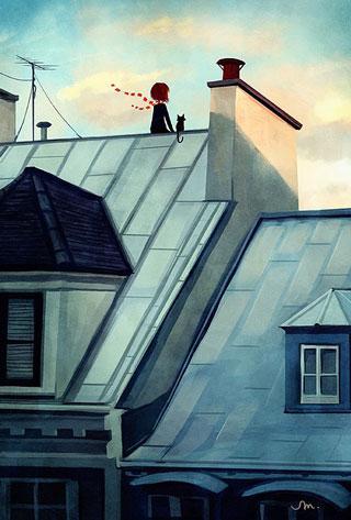 """Rooftops"" by Sarah Marino"