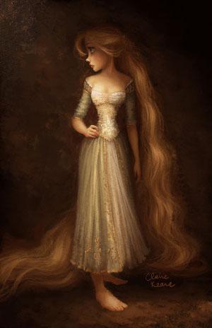 ClaireKeane-RapunzelRembrantStyleVisDev300w