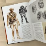 Early Chewbacca Concept Art by Ralph McQuarrie.