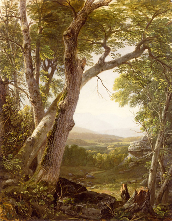"""Shandakan Range"" by Asher Brown Durand"