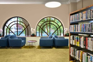 Interior Photography Tanglin Club Country Club Singapore Library 2 1080