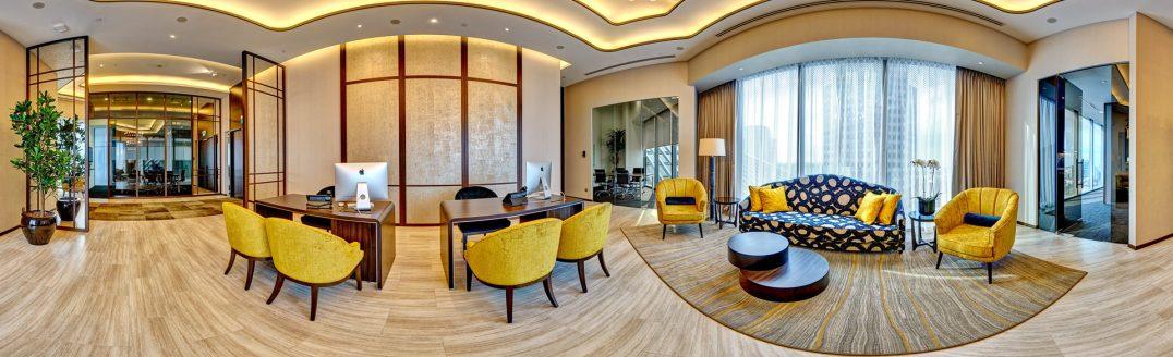 360 degree virtual tour photo of sky premium main boardroom
