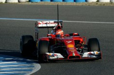 Kimi Raikkonen set the pace for Ferrari on day 1 in Jerez (Image: Ferrari)