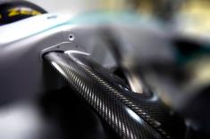 Front suspension of Mercedes W05 (Image: Mercedes AMG F1)